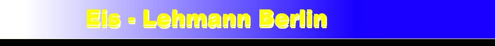 Eis-Lehmann Berlin-Logo